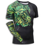 Dragon Muscle Shirt (Green)