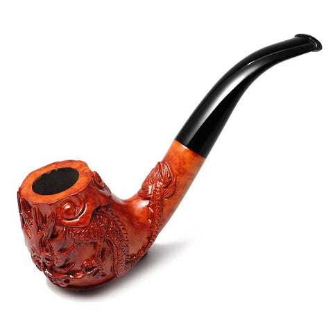 Briar Wood Dragon Pipe