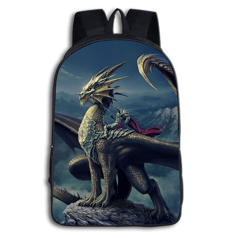 Dragon Riding Backpack