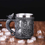 Dragon Slayer Viking Mug