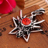 Dragon and Star Necklace
