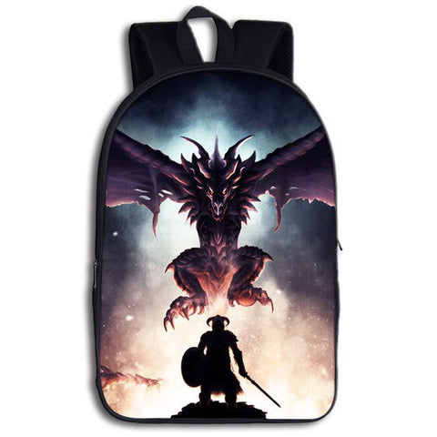 Dragon and Warrior Backpack