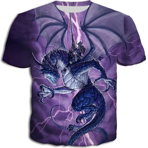 Dragon and Warrior T-Shirt