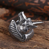 Dragon Wolf Ring (Stainless Steel)
