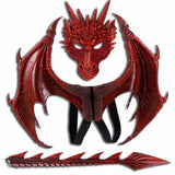 Drogon Red Dragon Costume
