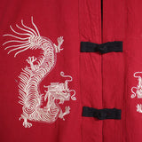 Genuine Embroidered Dragon Kimono