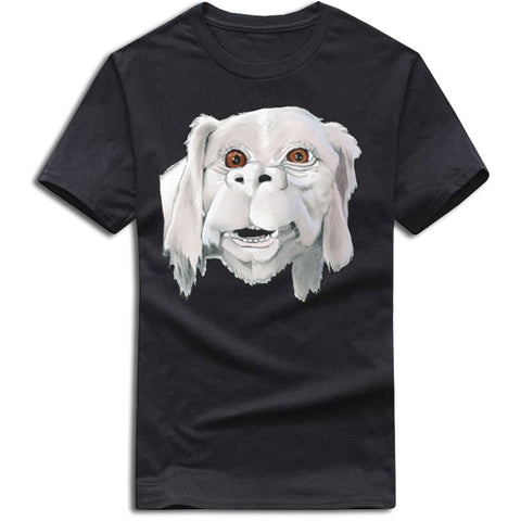 Falkor the Lucky Dragon T-shirt (black)