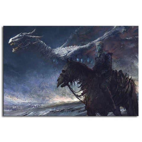 Game of Thrones Dragon Puzzle