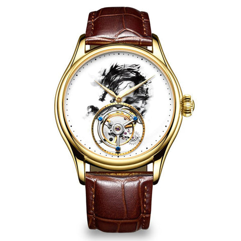 Gold Dragon Watch (Gold)