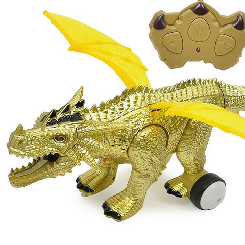 Gold Robot Dragon