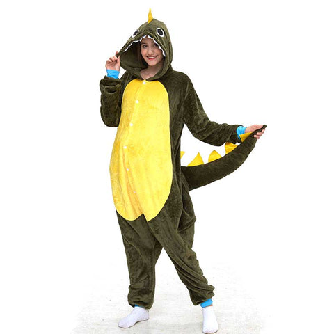 Green Dragon Adult Onesie
