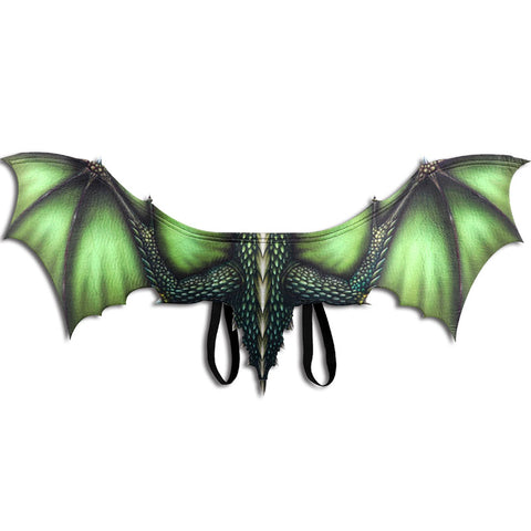 Green Dragon Cosplay Wings