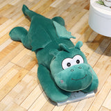 Green Dragon Pillow Plush