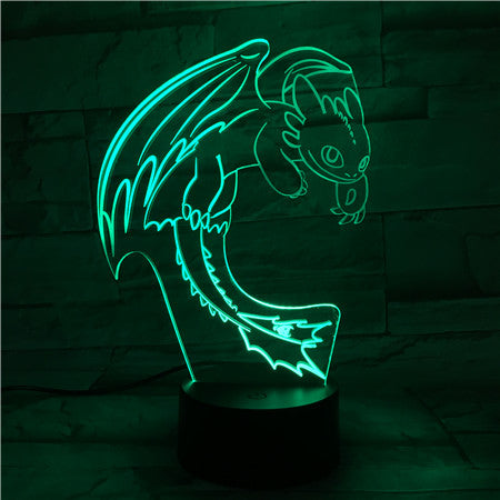 How To Train Your Dragon Night Light