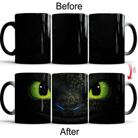 How to Train Your Dragon Toothless Mug