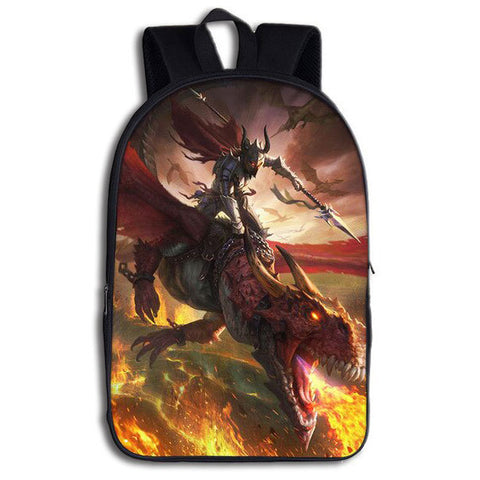 Knight Dragon Backpack