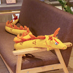 Large Stuffed Chinese Dragon (Yellow)