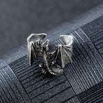 Luminous Dragon Ring Unfolding its Mystical Wings