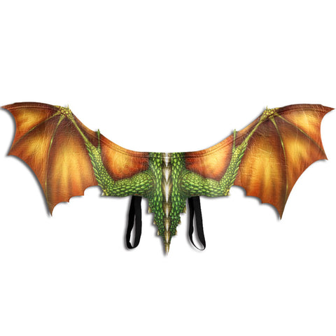 Orange Dragon Cosplay Wings