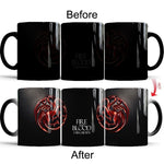 """Fire And Blood"" Dragon Coffee Mug"