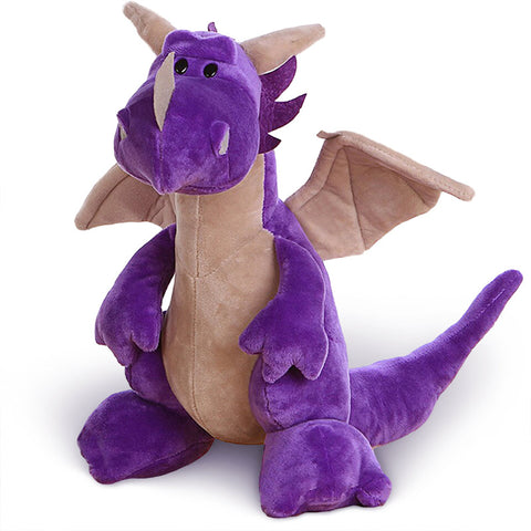 Purple Stuffed Dragon