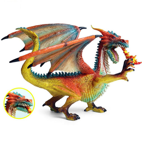 Rainbow Dragon Miniature