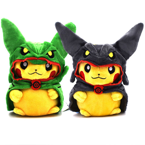 Rayquaza Dragon Plush (black and green)