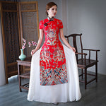 Red Chinese Dragon Dress