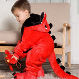 Red Dragon<br>Onesie for Kids