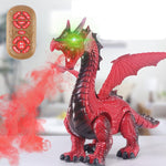Red Dragon Robot Toy