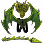 Rhaegal Green Dragon Costume