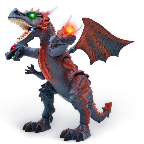 Robotic Three-Headed Dragon (grey)