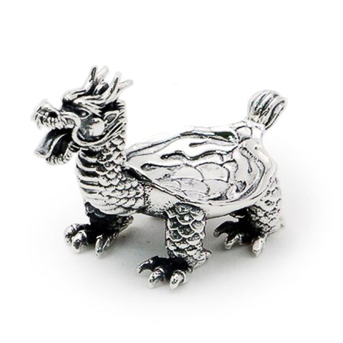 Silver Dragon Cigar Holder