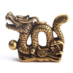 Small Chinese Dragon Statue