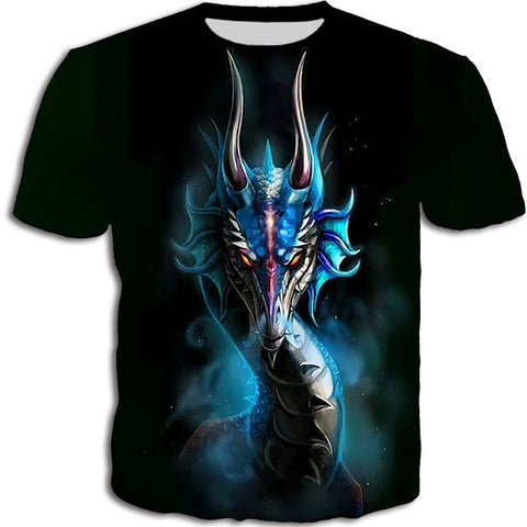 Space Dragon Head T-shirt