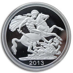 St George Slaying the Dragon Coin