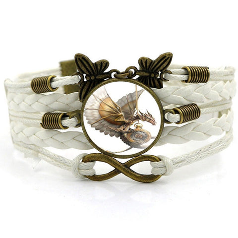 Steampunk Dragon Bracelet