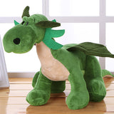 Stuffed Green Baby Dragon