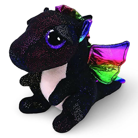 Ty Beanie Boos Black Dragon Plush