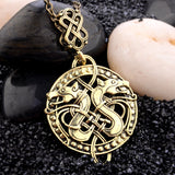 Viking Double Dragon Pendant