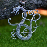 Viking Dragon Chain Necklace