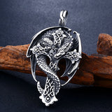Viking Dragon Necklace
