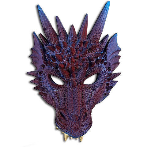 Viserion the Purple Dragon Mask