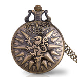 Welsh Dragon Pocket Watch (Quartz)