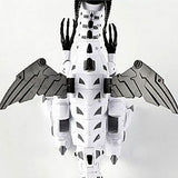 White Robot Dragon