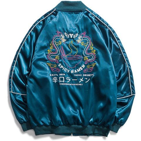 Yokosuka Dragon Jacket (blue)