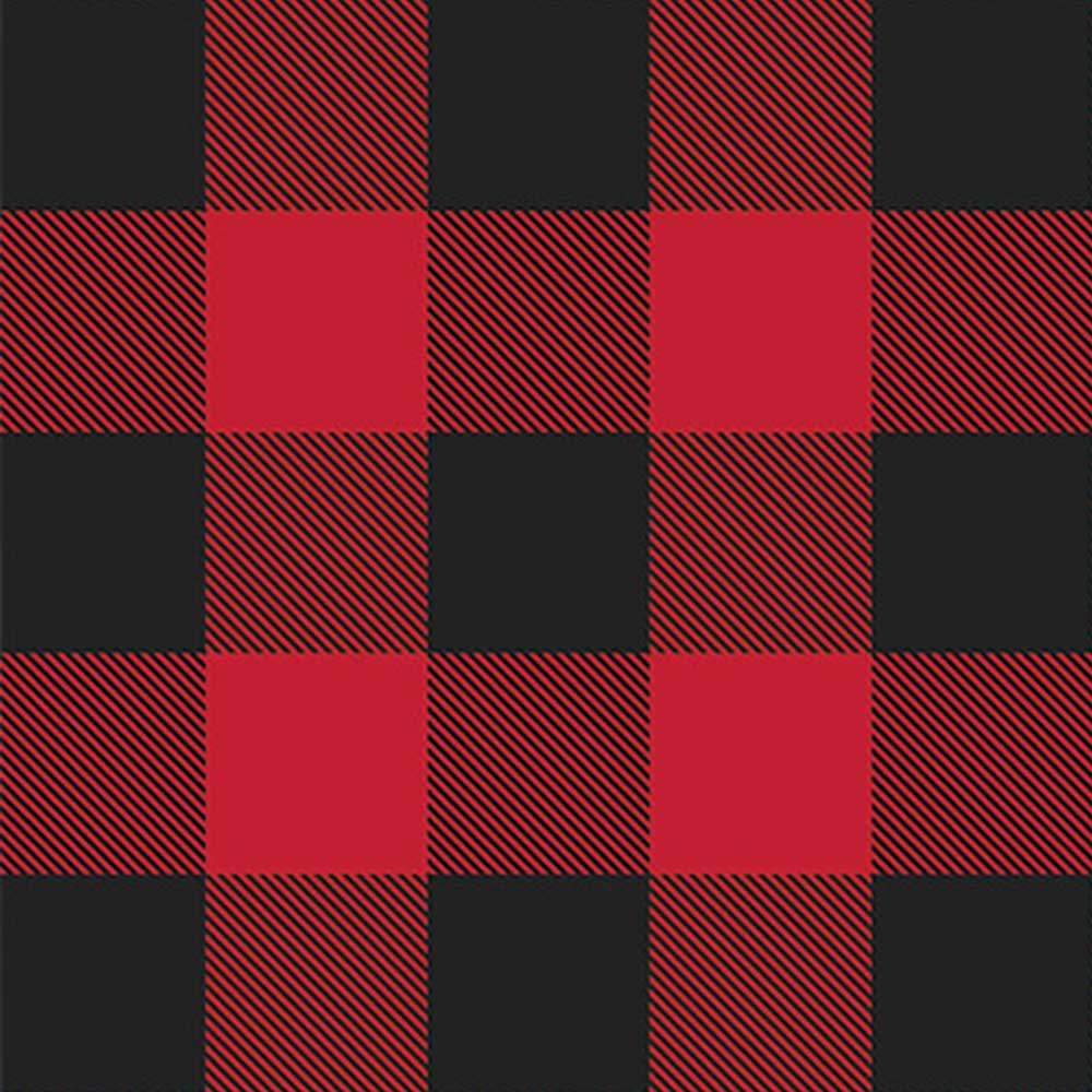 Black and  Red Plaid Flannel - AE Nathan