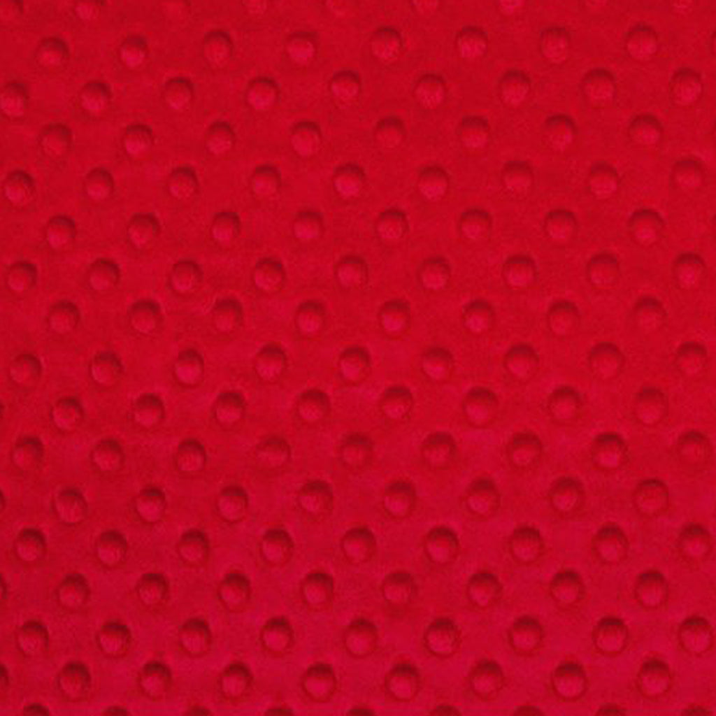 Red Minky - Shannon Fabrics - Cuddle Dimple