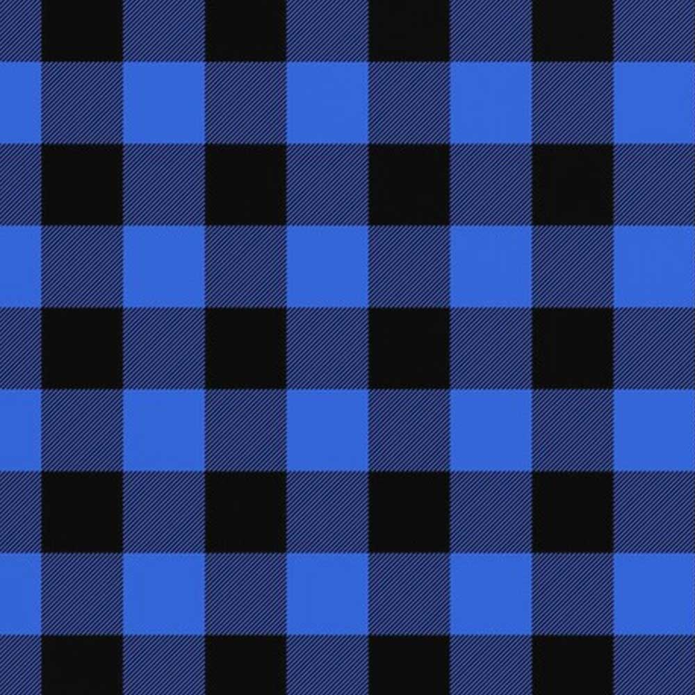 Royal Plaid - AE Nathan -  Flannel in Royal Blue