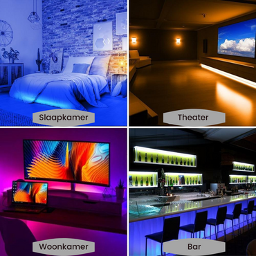 Smart LED Lights™ - Bedienbaar met je mobiel!